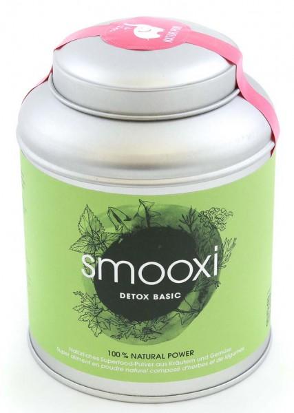 Smooxi - Smoothie Pulver DETOX BASIC - Spinat, Petersilie, Brennessel, Löwenzahn, Fenchel