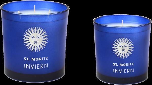 """UDUR St.Moritz """"INVIERN"""" Duftkerze im Glas mit Geschenkverpackung"""