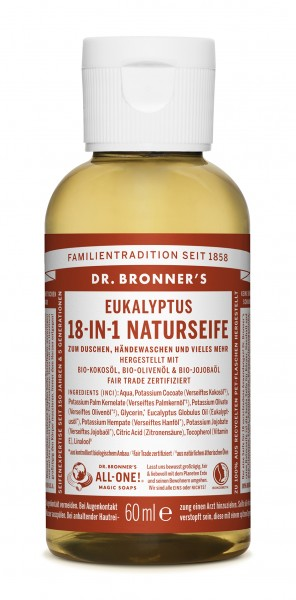 Dr.Bronners Liquid Soaps EUKALYPTUS