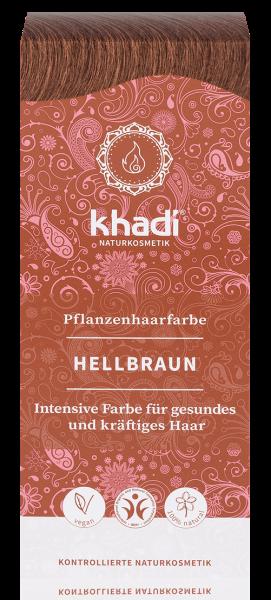 khadi Pflanzenfarbe HELLBRAUN - Teinture aux Plantes Châtain Clair