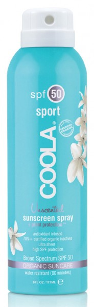 Coola® Organic Suncare - SPORT Spray Unscented - ohne Duft