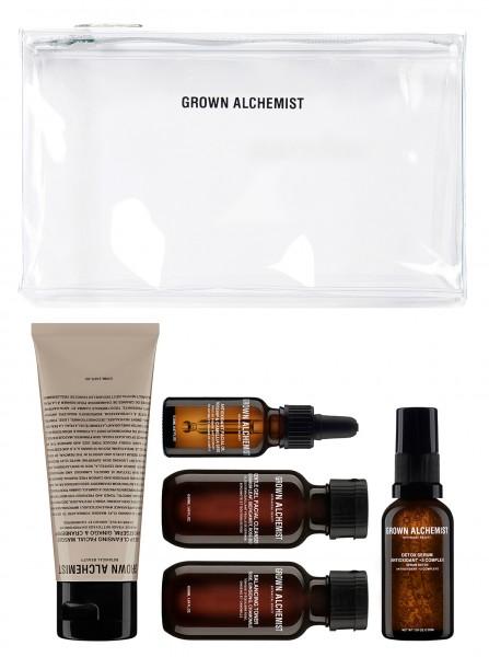 """Grown Alchemist DETOX """"Detox Facial Essentials Kit"""" 5 Pflegeprodukte für Ihre Gesichtspflege"""