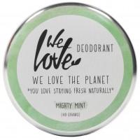 We Love The Planet DEOCREME - Mighty Mint - Belebend mit Minze & Rosmarien