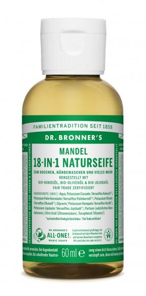 Dr.Bronners Liquid Soaps MANDELN