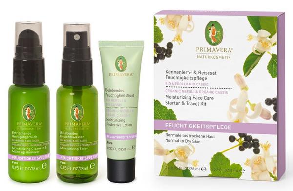 Primavera KENNENLERNSET NEROLI CASSIS FEUCHTIGKEIT - für normale bis trockene Haut
