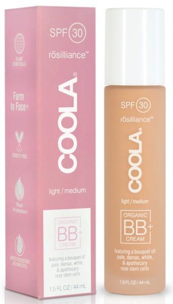 Coola® Organic Mineral RÖSILLIANCE BB+ Cream in 3 verschiedenen Farbvarianten