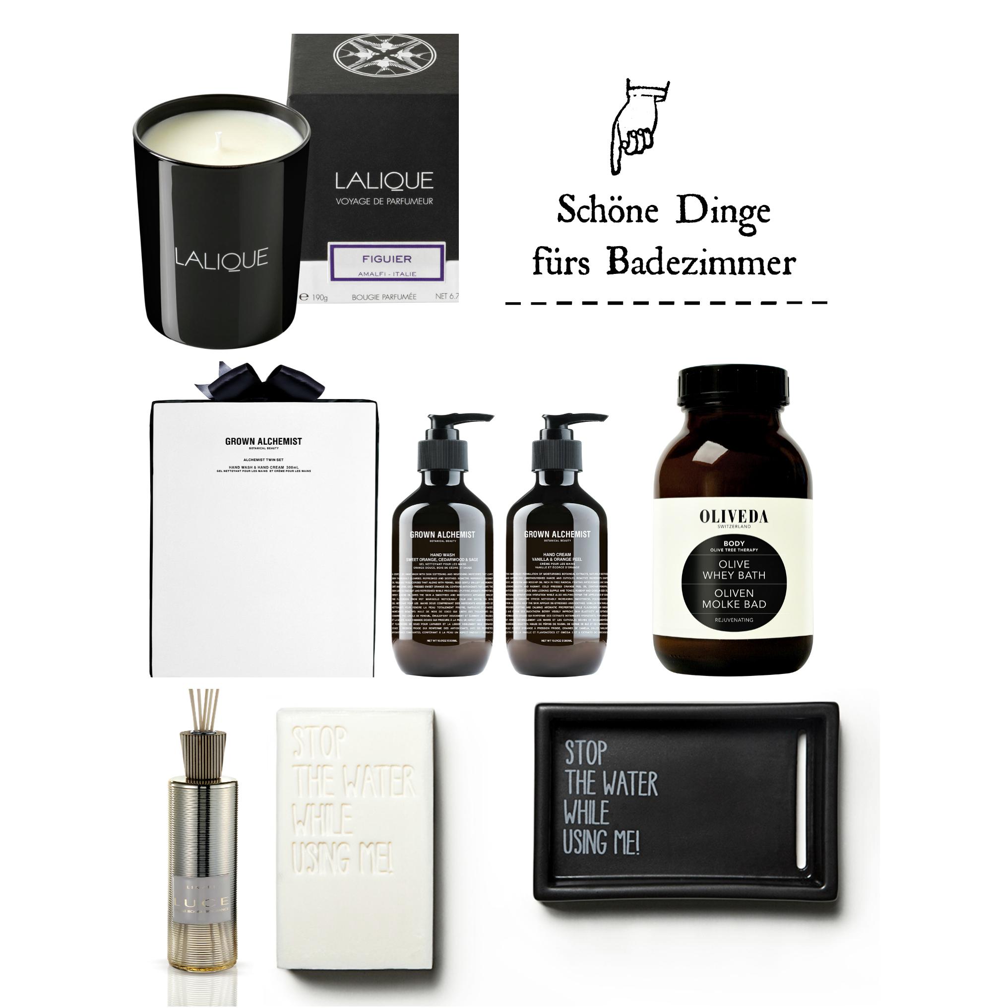 Schöne Dinge fürs Badezimmer – von Handseifen bis Duftkerzen ...