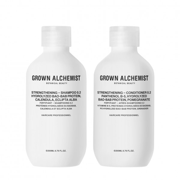 "Grown Alchemist HAIR ""STRENGTHENING Haircare Twinset 0.2 - Shampoo und Conditioner"