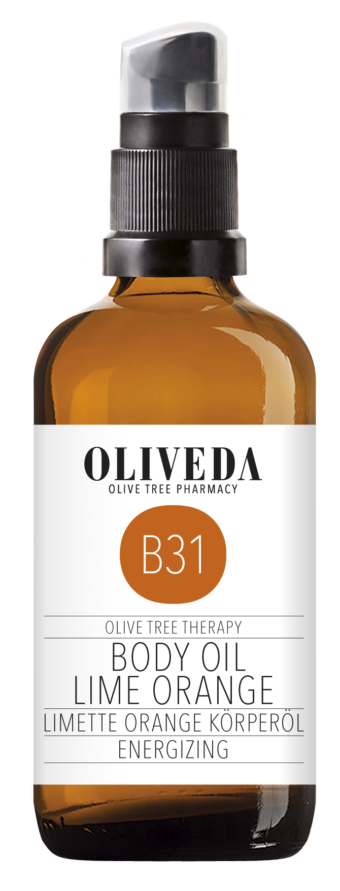 oliveda k rper l limette orange body oil lime orange. Black Bedroom Furniture Sets. Home Design Ideas