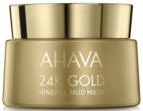 AHAVA 24K GOLD Mineral Mud Mask - Hochwertige Meeresschlamm Maske