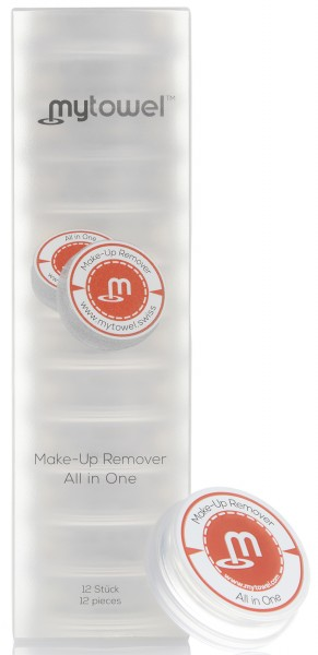mytowel - MAKE UP REMOVER 12er Box