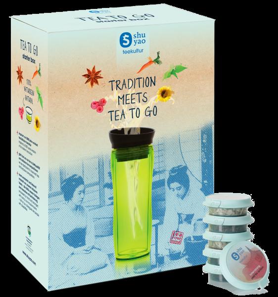 Shuyao - Teekultur STARTERBOX - Teamaker grün mit 10 Topseller Tagesportionen