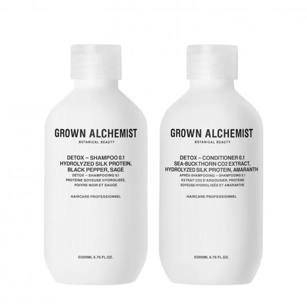 """Grown Alchemist HAIR """"DETOX Haircare Twinset 0.1 - Shampoo und Conditioner"""