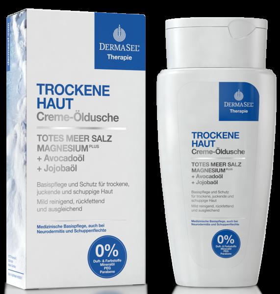 DermaSel® THERAPIE Creme Öldusche für trockene Haut