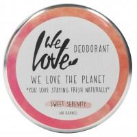 We Love The Planet DEOCREME - Sweet Serenity - Zarter Rosenduft & Honig