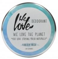 We Love The Planet DEOCREME - Forever Fresh - Erfrischend mit Zitrusölen & Kräutern