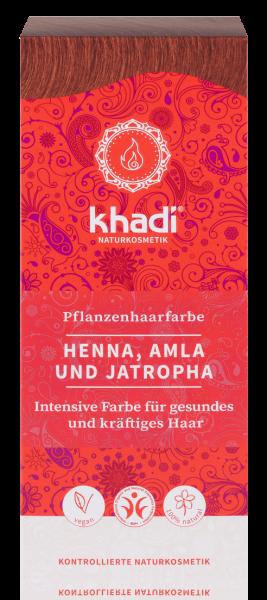 Firmen Weihnachtsgeschenke F303274r Kunden.Khadi Pflanzenfarbe Henna Amla Jatropha Rot Teinture Aux Plantes Henne Amla Jatropha Rouge