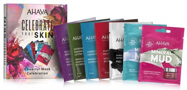 Ahava Celebration your Skin - Mask Celebration Set - Geschenkset mit 7 verschiedenen Gesichtsmasken