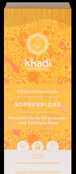 khadi Pflanzenfarbe SONNENBLOND - Warmer Blondton -