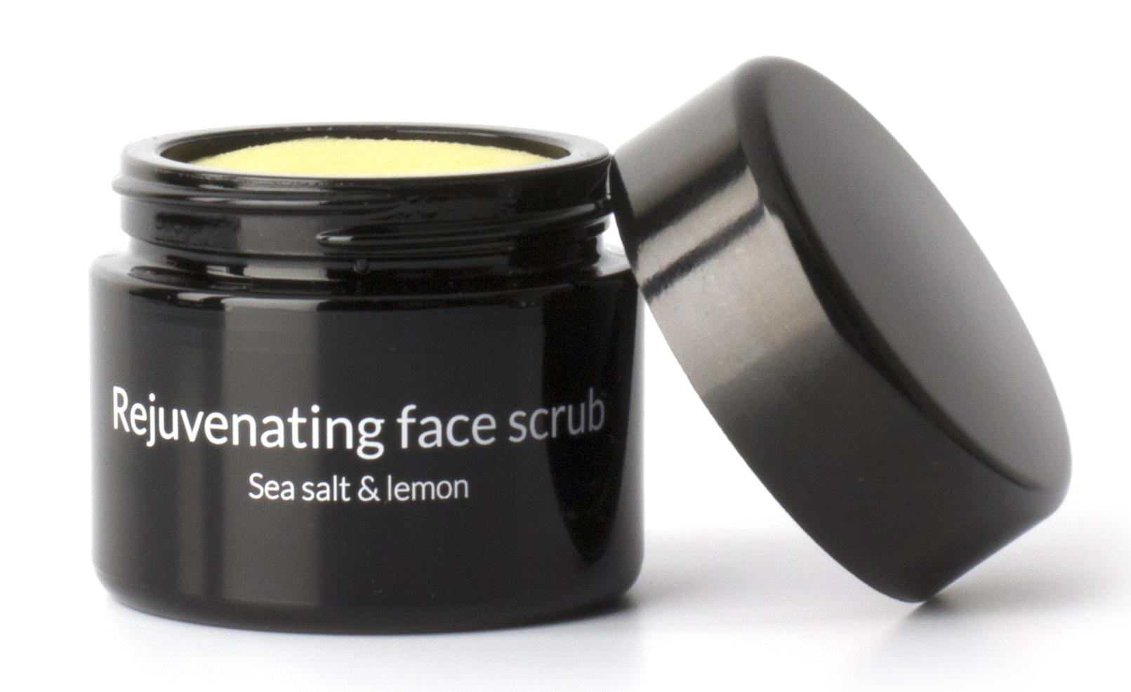 bottega organica rejuvenating face scrub lemon sea. Black Bedroom Furniture Sets. Home Design Ideas