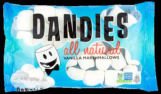 Puresense DANDIES Marsmallows - 100% vegan - VANILLE