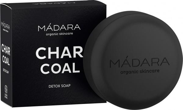 MÁDARA Detoxseife mit Aktivkohle - Charcoal Detox Soap