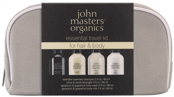 John Masters Organics Essential Travel Kit Hair and Body