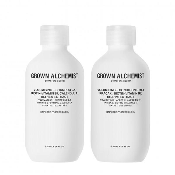 """Grown Alchemist HAIR """"VOLUME Haircare Twinset 0.4 - Shampoo und Conditioner"""