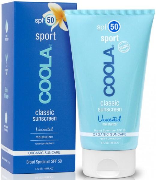 Coola® Organic Suncare - CLASSIC Sport Unscented - ohne Duft, für alle Hauttypen geeignet