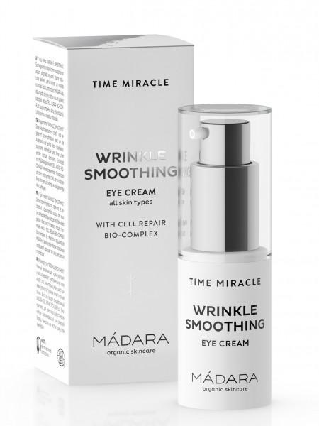 """MÁDARA Time Miracle Anti Aging Augencreme """"Time Miracle Wrinkle Smoothing Eye Cream"""""""