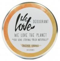 We Love The Planet DEOCREME - Original Orange - Verführerisch mit spanischer Mandarine