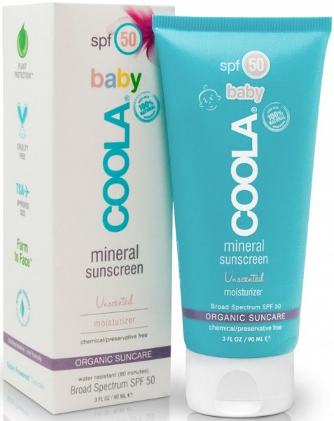 Coola® Organic Suncare - MINERAL Baby Organic Unscented - ohne Duft