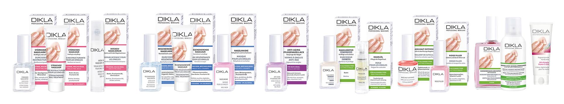Dikla-GEsamtsortiment