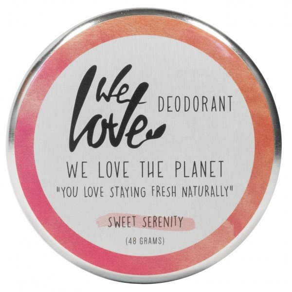 We Love The Planet DEOCREME - Sweet Serenity - Zarter Rosenduft & Honig